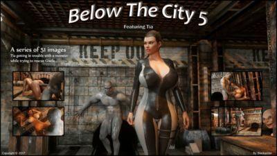 blackadder di seguito il città 5