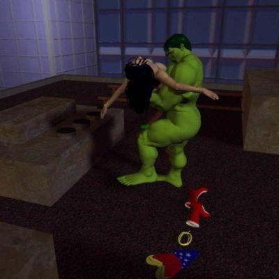 [Shade] The Incredible Hulk Versus Wonder Woman (Wonder Woman) - part 3