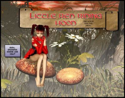 Little Red Riding Hood The Witch And The Troll No.1