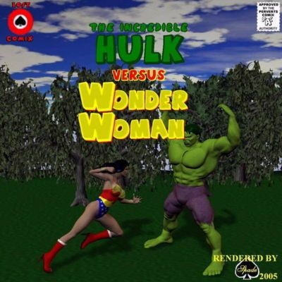 [Shade] The Incredible Hulk Versus Wonder Woman (Wonder Woman)