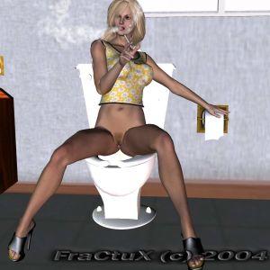 Fractux- Fun In The Bathroom
