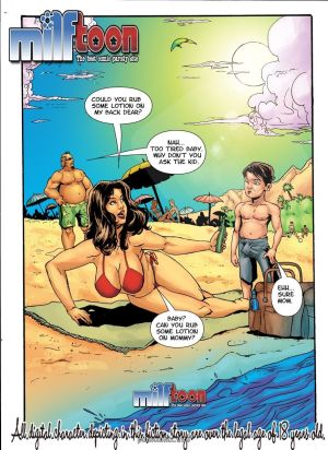 Milftoon – Obsession Beach