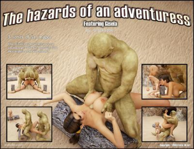 The Hazards of an Adventuress- Blackadder