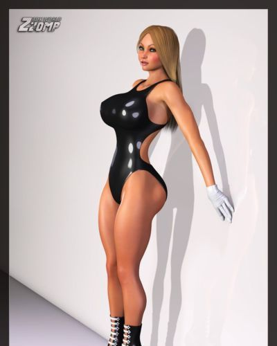 Zzomp- Jenny Poussin  Plastic Doll