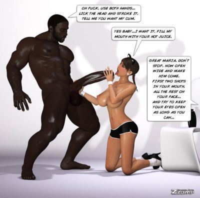 Maria Interracial - part 2