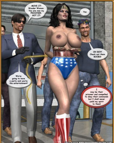 Bondage WW vs ArmDealers- Wonder Woman - part 2