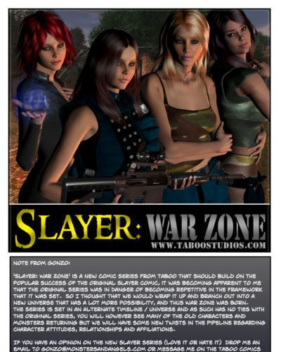Slayer war zone prequel