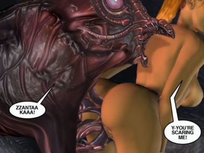 Mindy - Sex Slave On Mars c351-375 - part 3