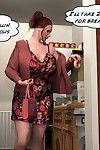 3Darlings Model Nadia eat Donuts