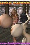 [BEGiantess] Magical Giantesses