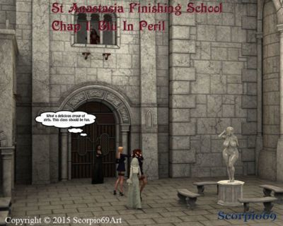 St Anastasia Finishing School- Chap 1: Blu In Peril