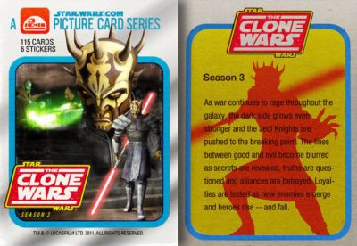 The Clone Wars Season 3 - Picture Card Series