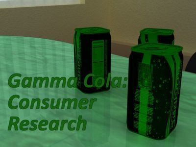 Gamma Cola:Consumer Research
