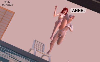 "\""Nudist Pool\"" part 3/3 Final (erotic 3D) (English ver.) (Uncensored) (+18) (3d hentai animation) \""Ecchi Kimochiii\"" -.."