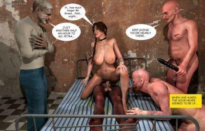 шаровары 3D секс