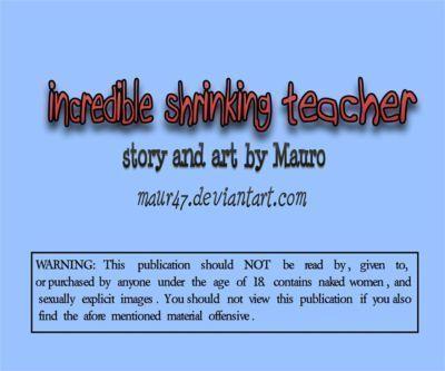 [Mauro] Incredible Shrinking Teacher