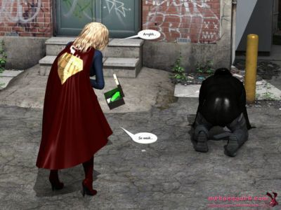 [MrBunnyArt] supergirl vs cain (supergirl) [English] - part 2