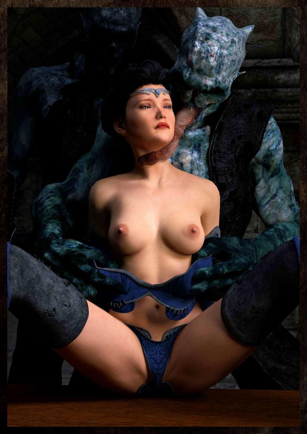 Hibbli3D – Sorceress Lori Beyond Death ( story + pics )