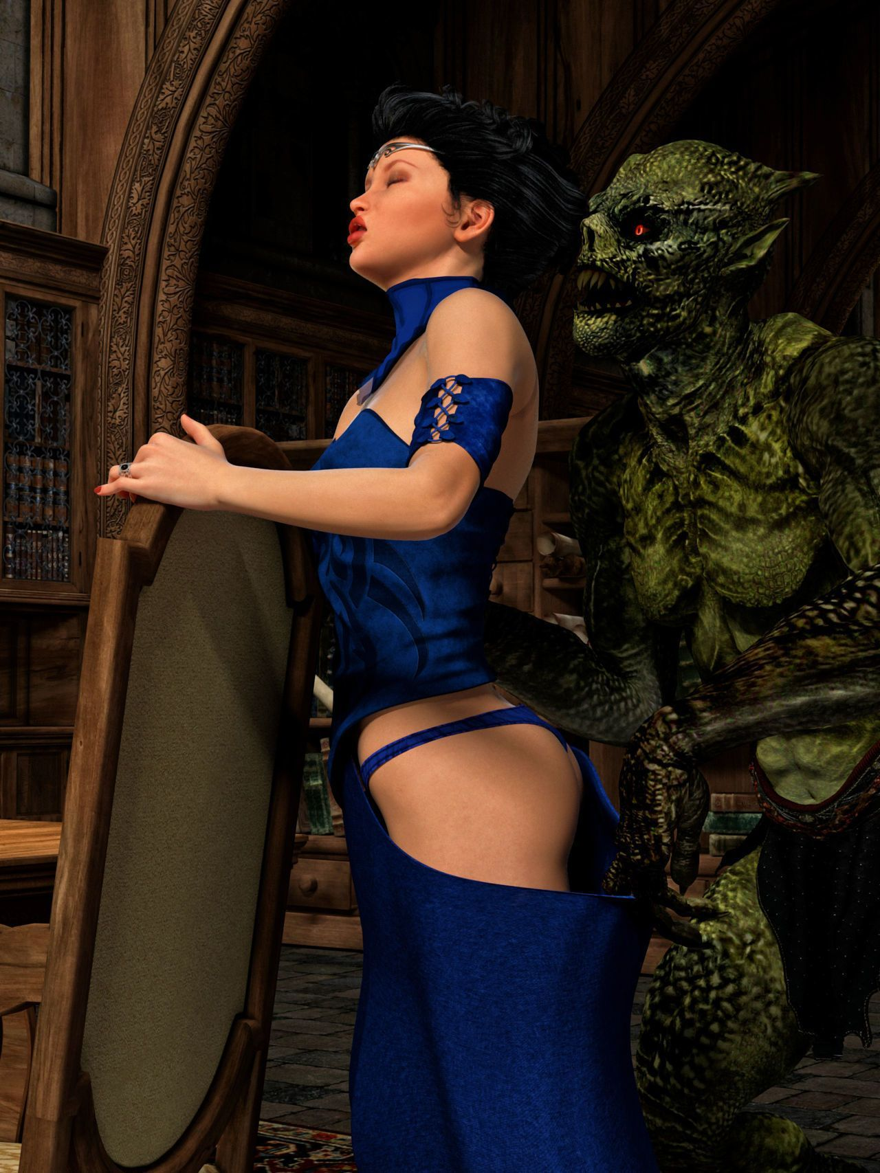 Hibbli3D – Sorceress Lori - Sold To Demons ( story + pics ) - part 3