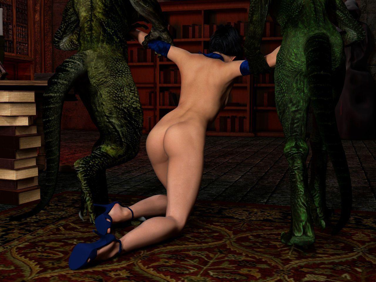 Hibbli3D – Sorceress Lori - Sold To Demons ( story + pics ) - part 5