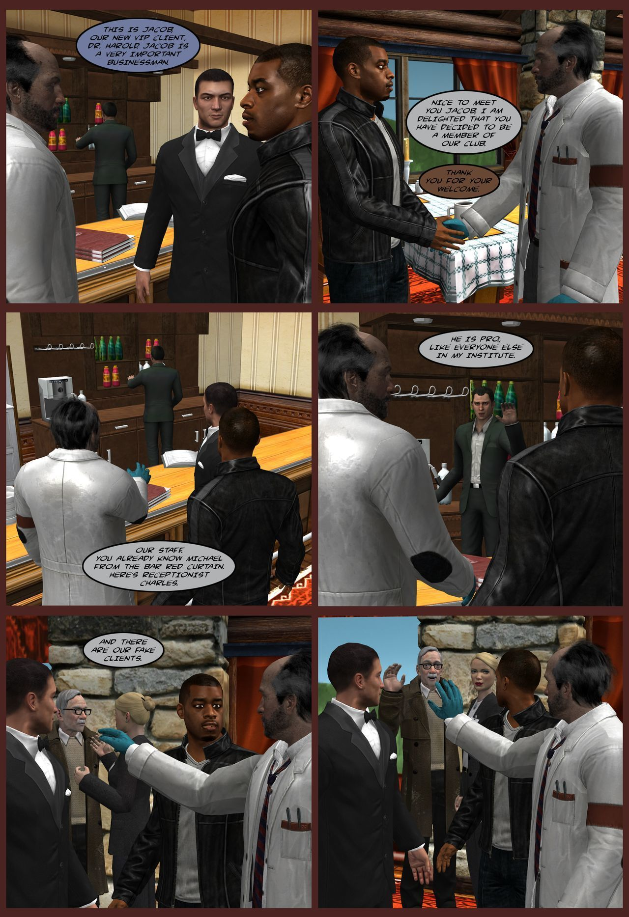 Adventures of Hostel - chapter 1-2 - part 2