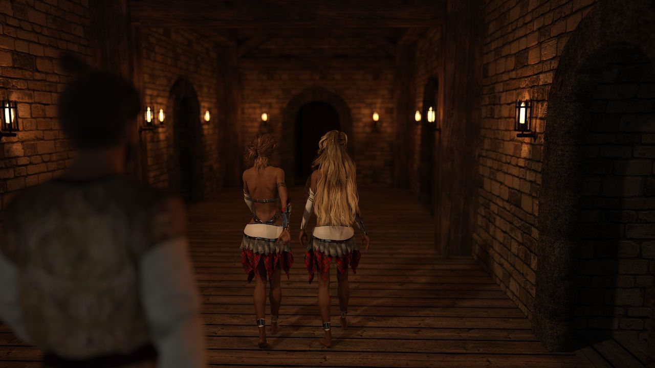 Gator3D – Fairy Tales – Elven Schoolgirls - part 2