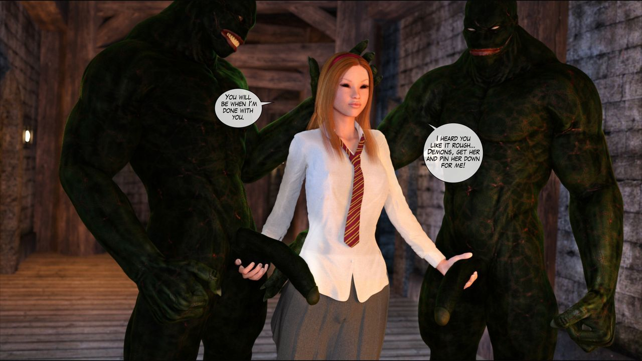 [Shinra-kun] Harriet Cooper And The Wizard\'s Sacrifice - Spell 3 - part 10