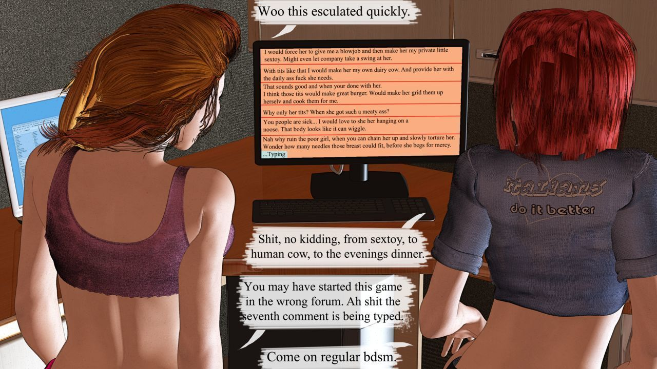 The Dare! [On going] Poser 3D story
