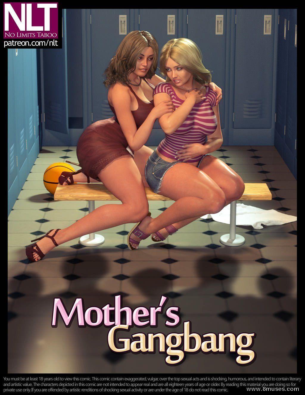 [NLT MEDIA] Mothers Gangbang