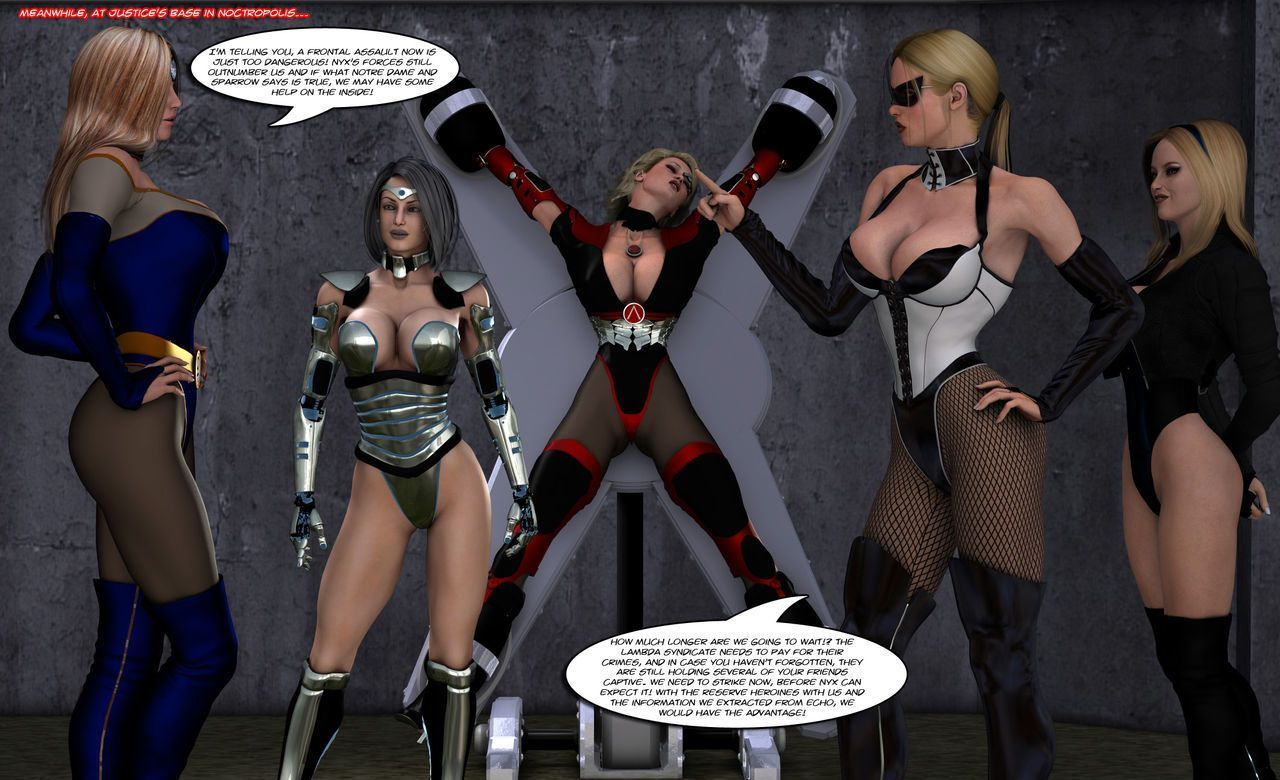 [Uroboros] Legion Of Superheroines 58 - 59