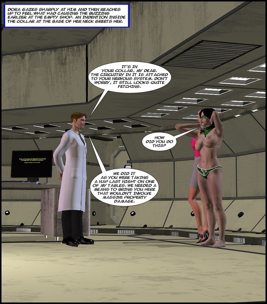 American Amazon Universe - For the Benefit of Society 1-11 - part 5