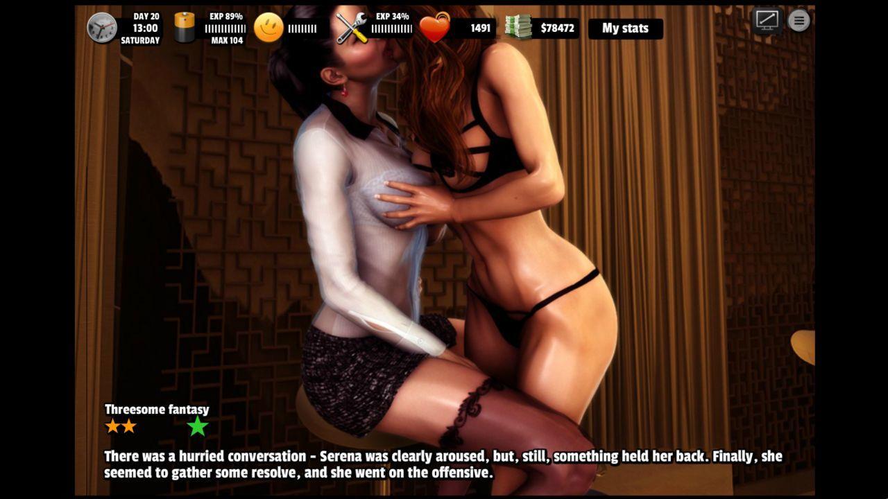 эротическая игра lesson of passion-ьб2