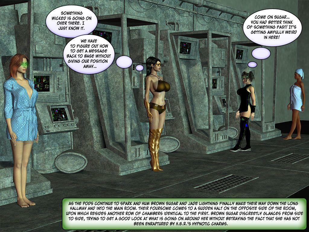 [Finister Foul] Superheroine Squad 1 - 23 - part 6