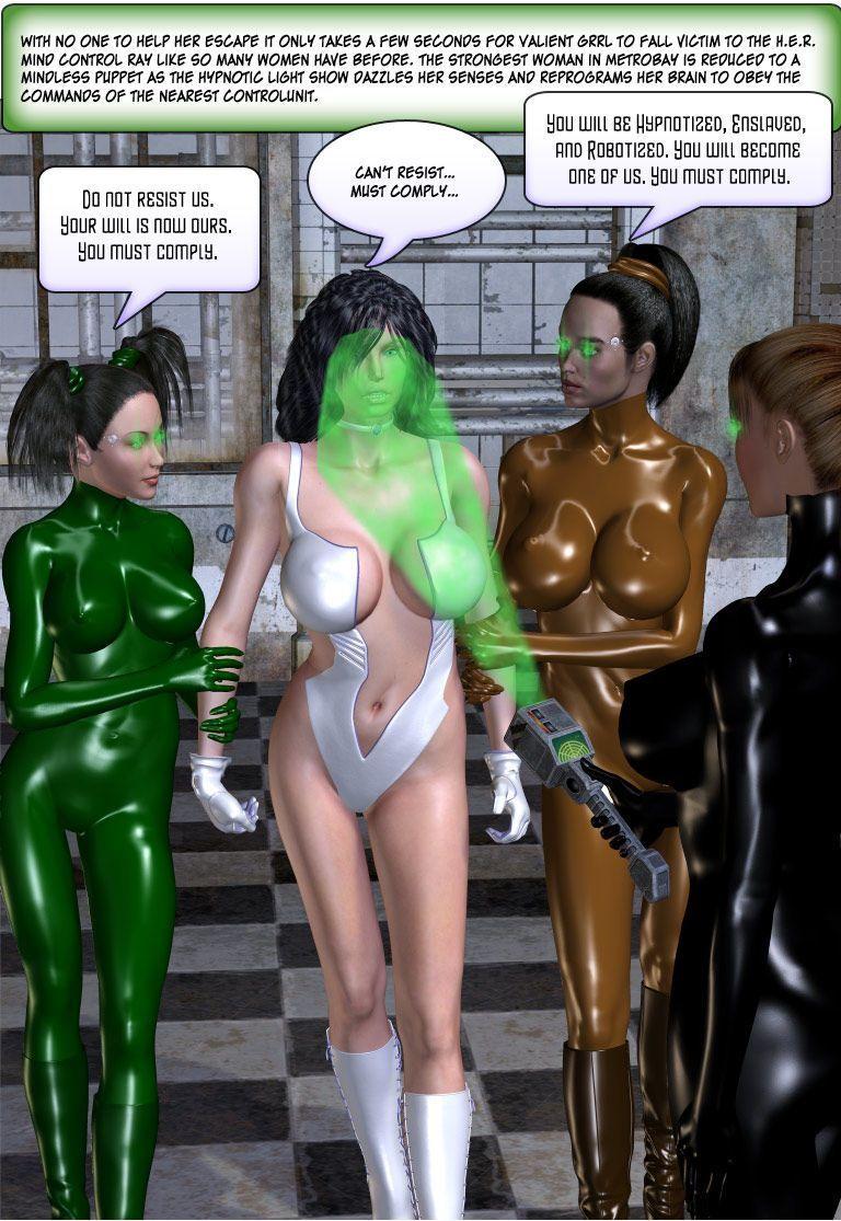 [Finister Foul] Superheroine Squad 1 - 23 - part 13