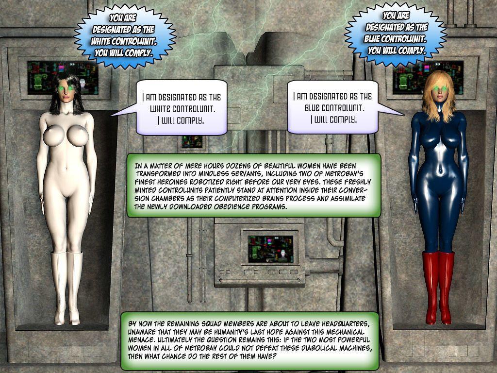 [Finister Foul] Superheroine Squad 1 - 23 - part 14