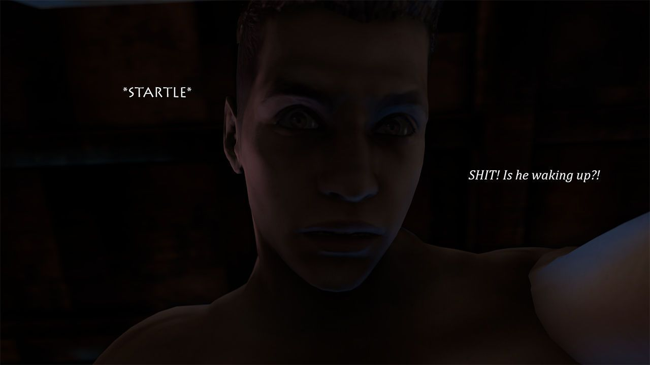 [Hyungry] Just Another Night (Resident Evil {Chris x Piers}) - part 2