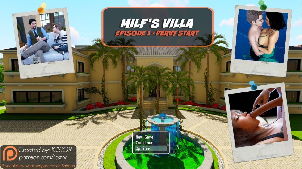 [ICSTOR] Milf\'s Villa - Viviana - Episode 1 - 3D Artist