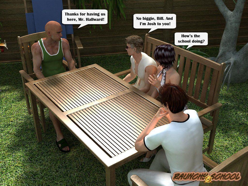 [Raunchy School] Barbecue Picnic