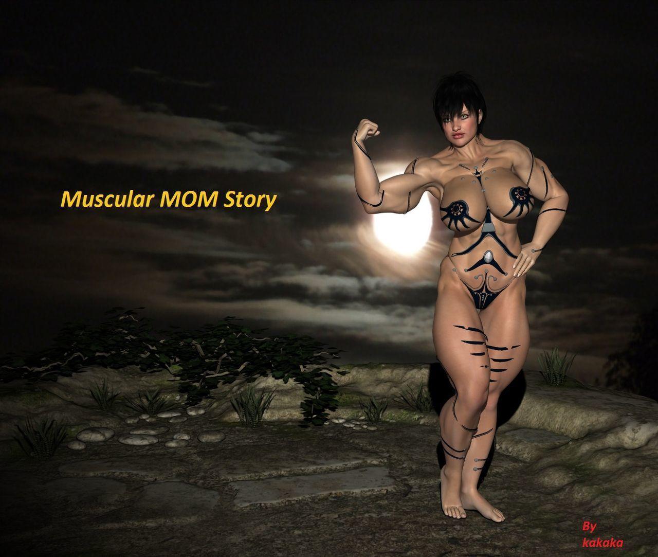 [kakaka] Muscular MOM
