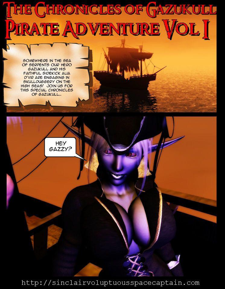 Chronicles of Gazukull - Pirate Adventure Vol. 1