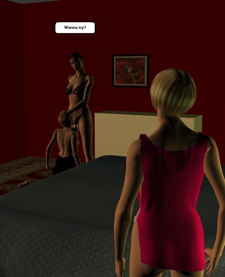 [3D comix] Family Lesbian [English]