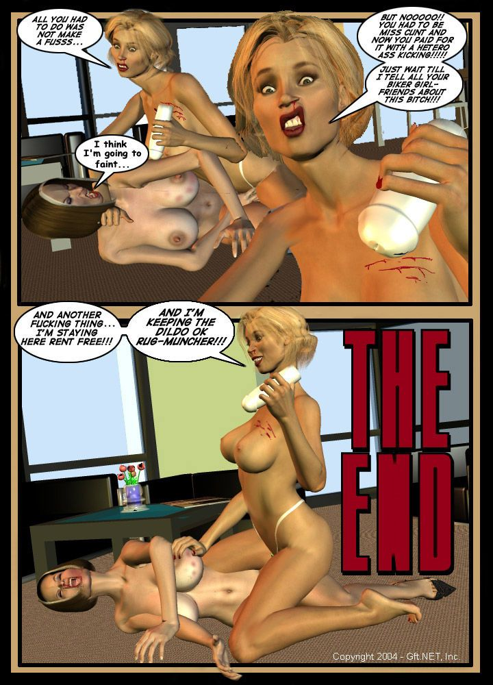 3d catfight - part 2