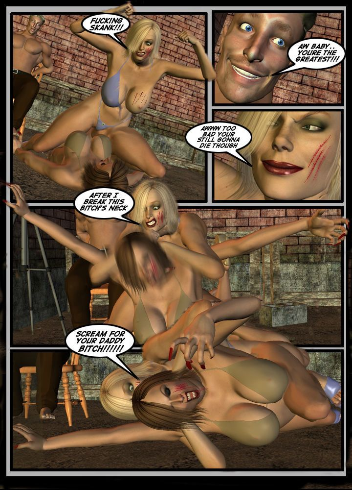 3d catfight - part 3