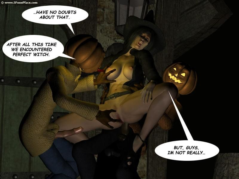 Trick and Treat - part 3