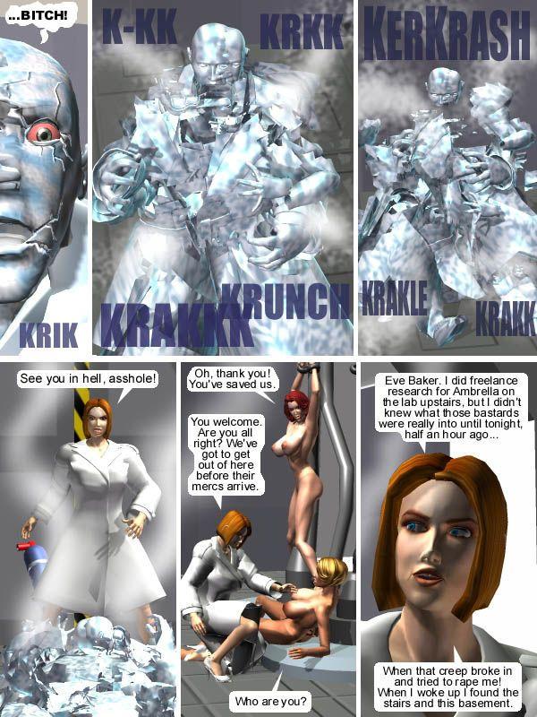 The FX Files - True Sex - 3D XXX Hardcore Comics