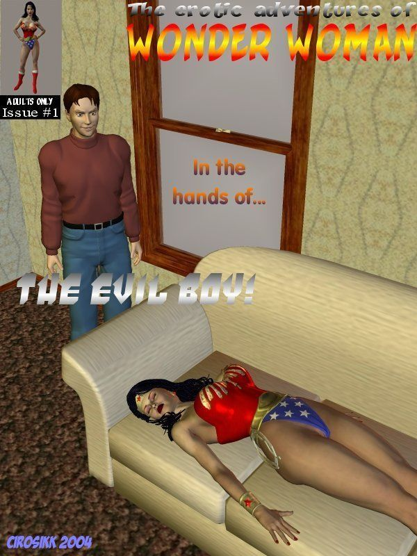 [Cirosikk] The Erotic Adventures of Wonder Woman - The Evil Boy! (Wonder Woman)