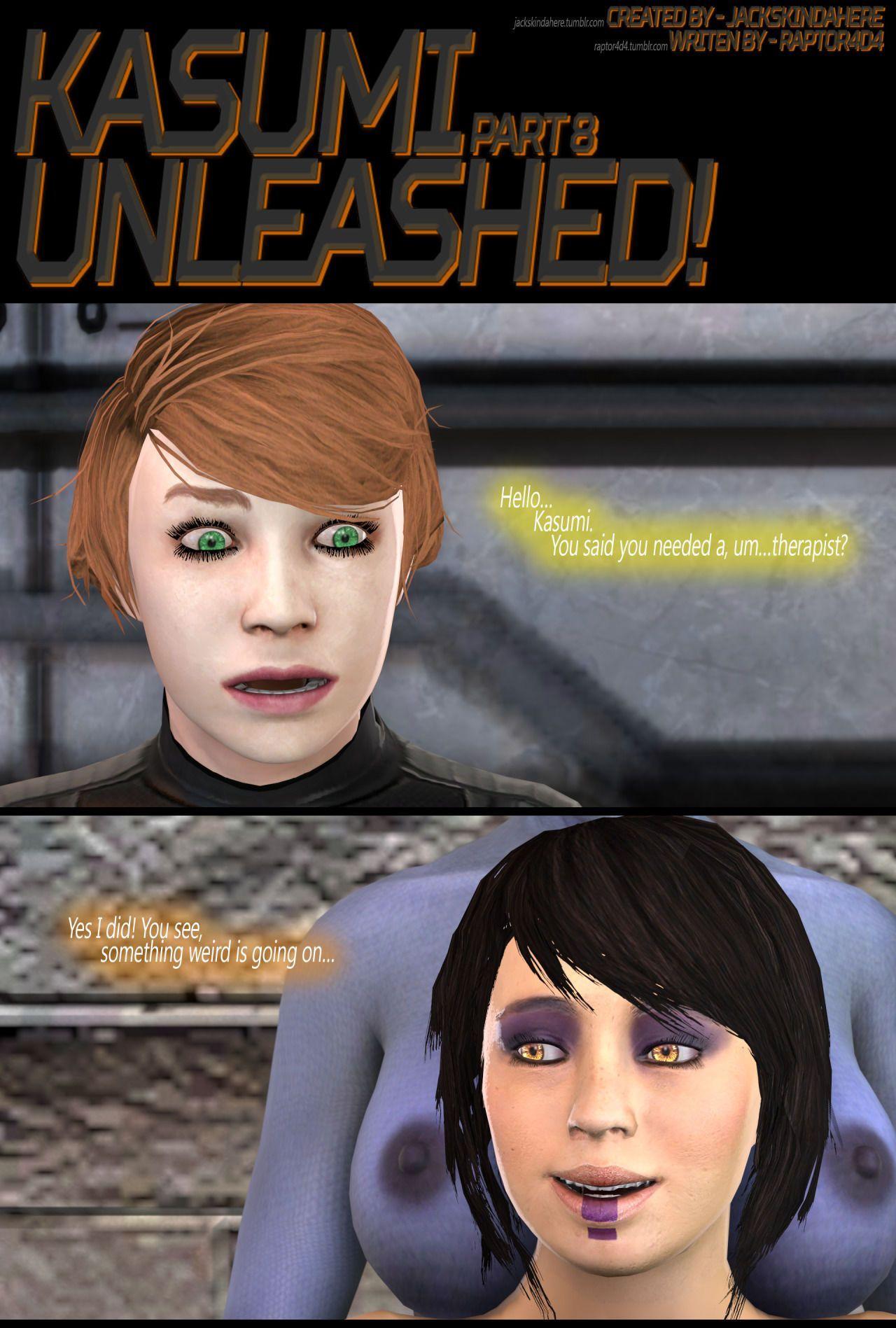 [JacksKindaHere] Kasumi Unleashed (In Progress) - part 3