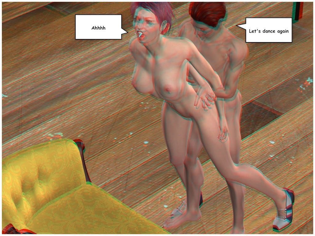 [Vger] Posing for my mother (3d anaglyph version] - part 5