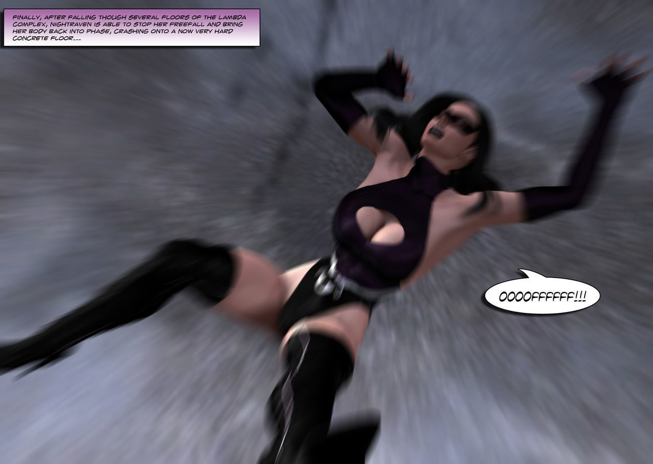 [Uroboros] Legion Of Superheroines 47 - 57 - part 3