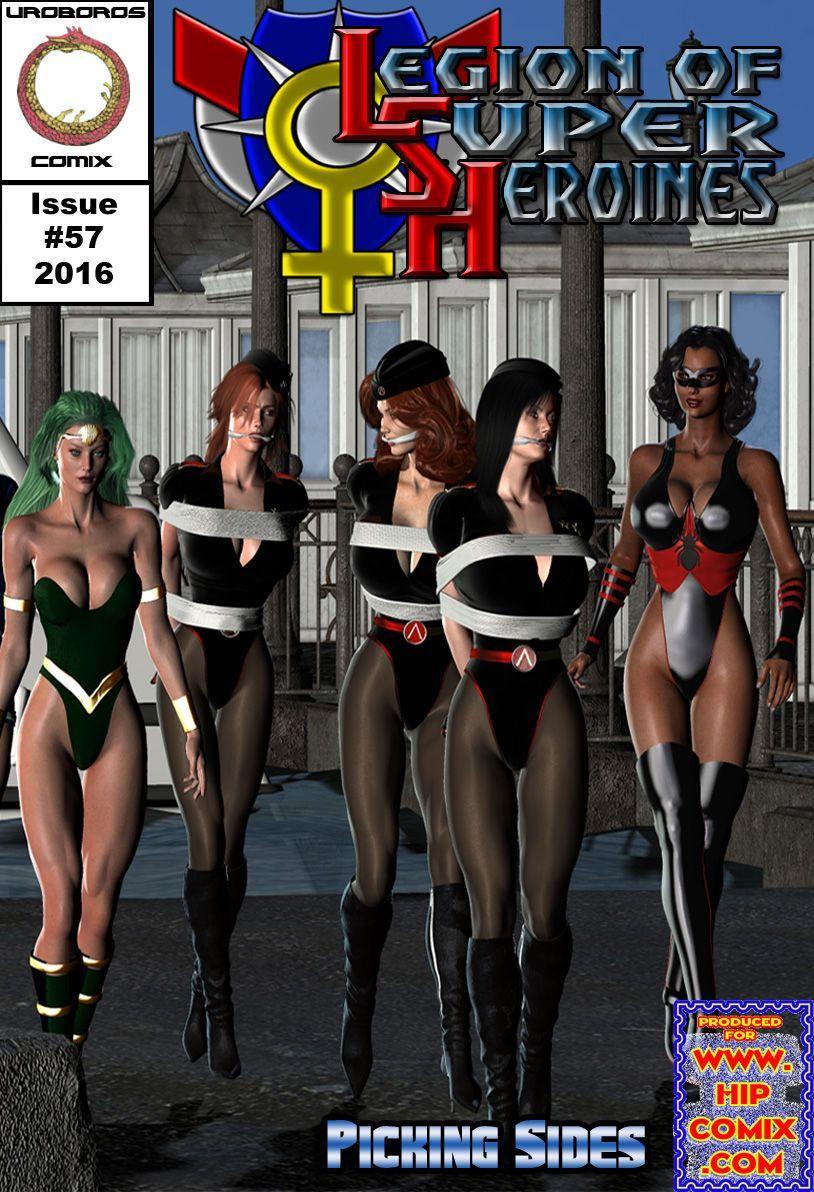 [Uroboros] Legion Of Superheroines 47 - 57 - part 8